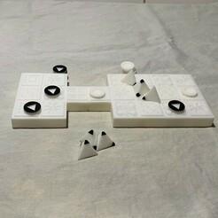 IMG_2165.jpeg Download free STL file The Royal Game of Ur • 3D printer design, pbeiser