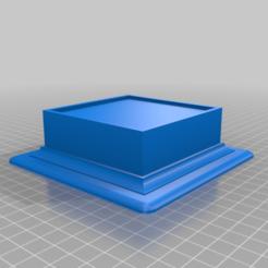 Baseball_Display_Plinth_-_80x80_cube.png Download free STL file Baseball Display Plinth • 3D printable model, cliftondfarr