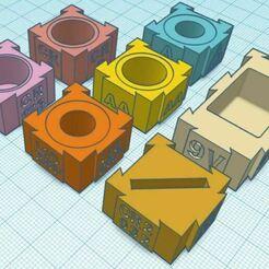 Battery Pack.JPG Télécharger fichier STL gratuit Des supports de piles extensibles pour différentes tailles • Modèle imprimable en 3D, Botcan