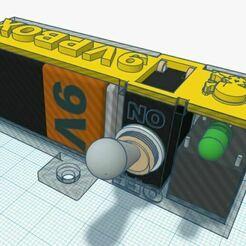 Transparent Control Box.JPG Télécharger fichier STL gratuit Projet de mise hors tension automatique • Design imprimable en 3D, Botcan