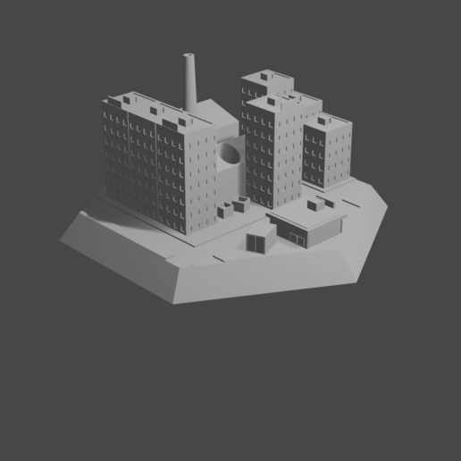 HexTownCults1.png Download STL file Hex with city • 3D printing model, Morita550bw