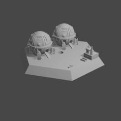 hex ship.png Download STL file hex starport • 3D printing template, Morita550bw