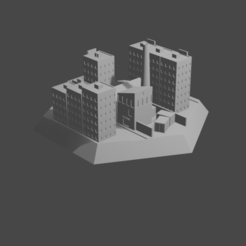 HexTownCults.png Download STL file Hex with city • 3D printing model, Morita550bw
