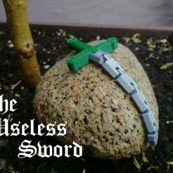 IMG_20190503_1316432.jpg Download free STL file The Useless Sword - Flexi Sword • 3D printing template, torrentdsgn