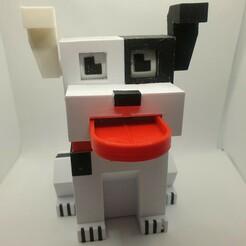 Télécharger fichier STL gratuit Banque de pièces de monnaie pour chiens • Design pour impression 3D, Remrafs