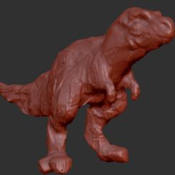 preview.png Télécharger fichier STL gratuit Test Sculpt - T-Rex • Plan pour impression 3D, ArtStankus