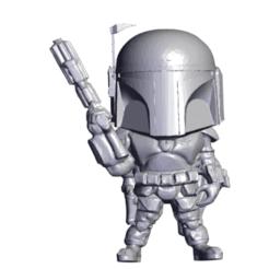 Screenshot 2020-12-21 145710.png Download free STL file Mini Mandalorian bounty hunter • Template to 3D print, devanborkhatria