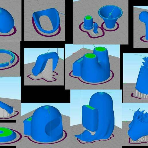 gcode.jpg Download free OBJ file Among Us (easy print)(crew/body/ghost/impostor) • 3D printable template, devanborkhatria
