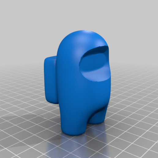 bodyFull.png Download free OBJ file Among Us (easy print)(crew/body/ghost/impostor) • 3D printable template, devanborkhatria