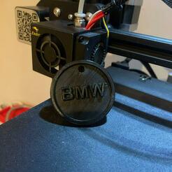 bmw 2.jpg Télécharger fichier GCODE gratuit porte clés BMW • Objet imprimable en 3D, Sboob