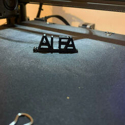 unnamed (2).jpg Télécharger fichier GCODE gratuit porte cles alfa • Design pour imprimante 3D, Sboob