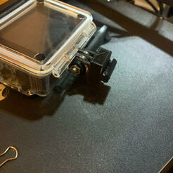 gop5.jpg Télécharger fichier STL support go pro ender 3 • Design pour imprimante 3D, Sboob