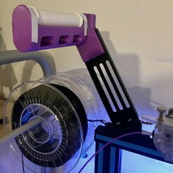 IMG_5146.JPG Télécharger fichier STL gratuit Filler Creality brace 30 degree angle • Objet imprimable en 3D, tamashi