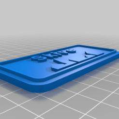 Skive.png Download free SCAD file Byskilt (Danish Town Sign) • Object to 3D print, tamashi