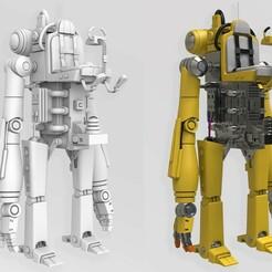 01.jpg Download STL file Robot character 3d model  • 3D printing design, YS_creations