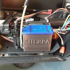 20210115_161849.jpg Télécharger fichier STL gratuit ABSIMA Sherpa Bigger box reciever • Objet imprimable en 3D, Zoulousnake