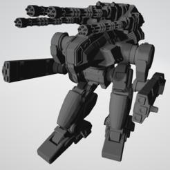 7f.PNG Télécharger fichier STL gratuit Le BHM-7F géant pour le jeu de guerre américain Mecha • Design pour impression 3D, Some_Assembly_Required
