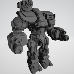 Capture.PNG Download free STL file Ymir RNK-1X + Variants for American Mecha Wargame • Template to 3D print, Some_Assembly_Required