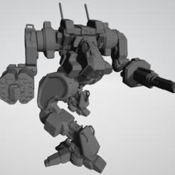 Capture.PNG Télécharger fichier STL gratuit Star Burst NVA-D pour le jeu américain Mecha Wargame • Objet pour imprimante 3D, Some_Assembly_Required