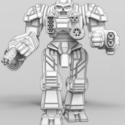 art pose render.PNG Télécharger fichier STL gratuit Porteur du monde II • Objet à imprimer en 3D, Some_Assembly_Required