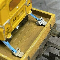 IMG_2811.jpeg Download STL file OO Scale 4mm Tie Down Eyes for Model Railway Wagons • Model to 3D print, davedenby