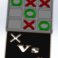 x vs o 2.PNG Download free STL file The battle of X Vs O • 3D printer design, RK3Dprinting