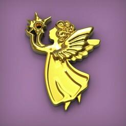 untitled.278.jpg Download STL file Angel • 3D printing design, yka4aka