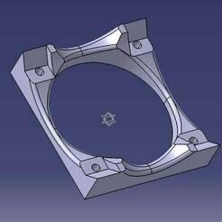 Nema17Seite.jpg Télécharger fichier STL gratuit Lüfterhalter Nema17 seitlich • Plan imprimable en 3D, Feldsalat