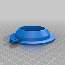 T2_52mm_Gauge_Support.png Download free SCAD file VW T2 52mm Gauge Support • 3D print template, Mickey1978