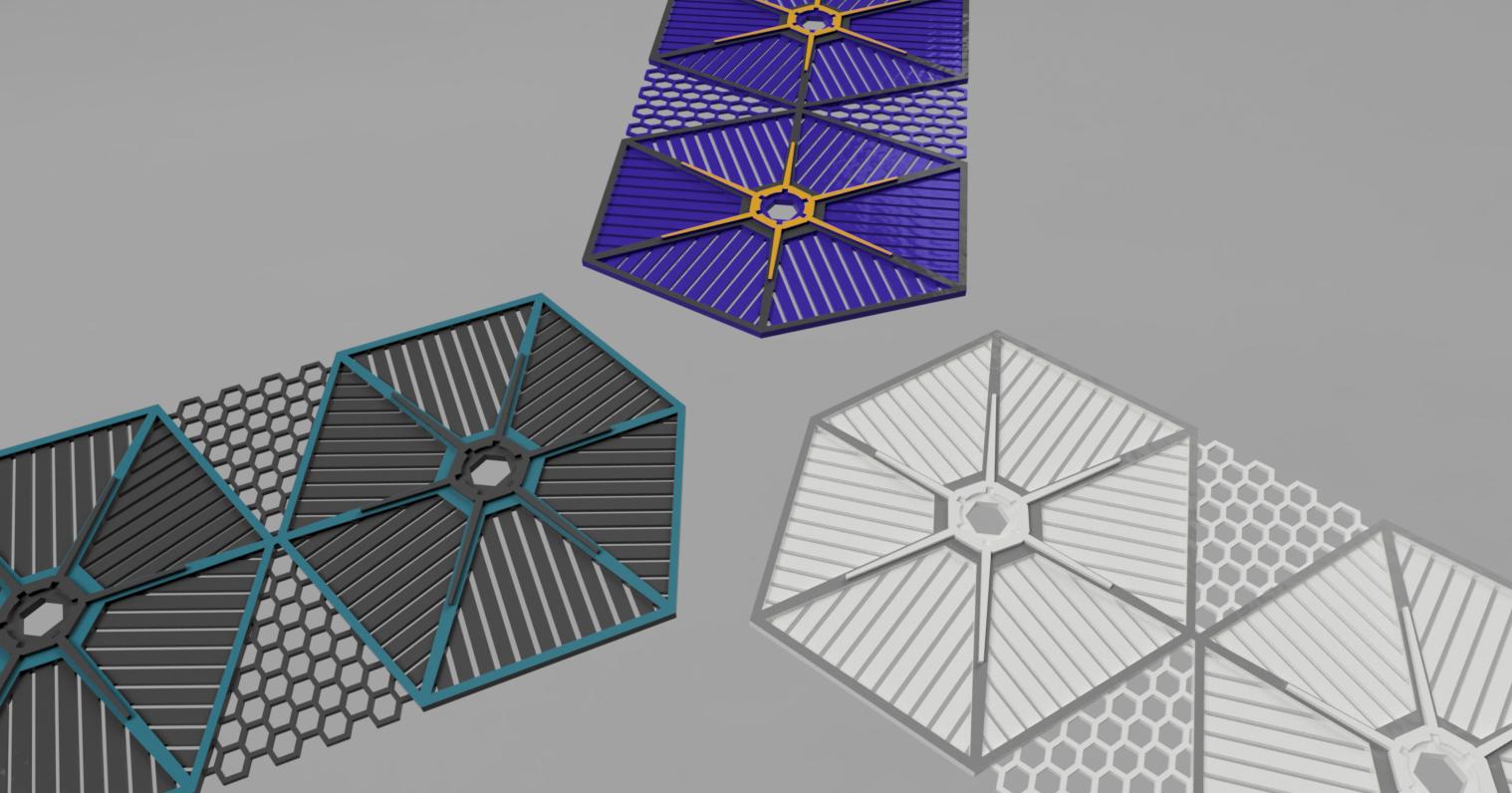 3_styles.png Download STL file TIE Fighter Bathroom Shelf • 3D printer model, AdditivedIndDesigns