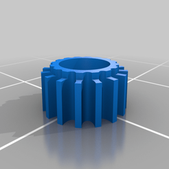 Tie_SF_Gear.png Download free STL file Tiny gear to convert Tie/fo to Tie/sf - X-Miniatures • 3D printable template, Cloyd