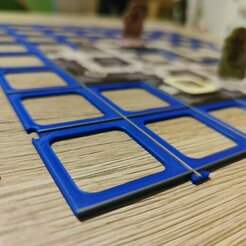 53_podlozka-pro-stolni-hry-carcassonne-a-karak.jpg Download STL file Carcassonne/ Karak tile grid • 3D printer model, Junek