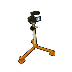 cam-im1.png Download STL file Mini Tripod • 3D print object, mecano-3D