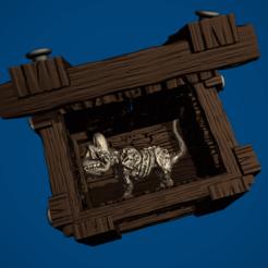 SCHRÖDINGER'S CAT1.png Download STL file Schrödinger's cat Stash Box • Model to 3D print, ItsACockWorldAfterall