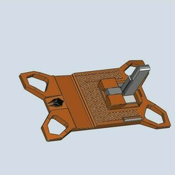 1.jpg Télécharger fichier STL Présentoir universel de pistolets / réglable pour de nombreux modèles • Modèle pour imprimante 3D, HemiS