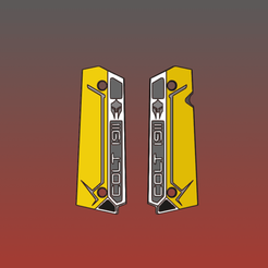 2.png Télécharger fichier STL Colt 1911 saisit le guerrier spartiate furtif en taille standard • Objet pour imprimante 3D, HemiS