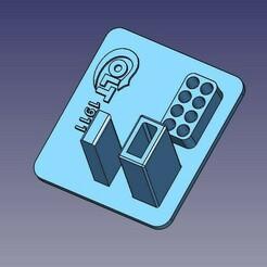 stand1.jpg Télécharger fichier STL Présentoir Colt 1911 pour la version Blank / signal Kuzey, Umarex et autres • Modèle pour imprimante 3D, HemiS