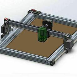 Laser_engraver_REJ_00.JPG Download free STL file Laser engraver • 3D printable template, Otomar
