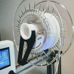 spool_holder_rej.jpg Télécharger fichier STL gratuit Porte-bobine de filament de tube • Plan pour impression 3D, Otomar