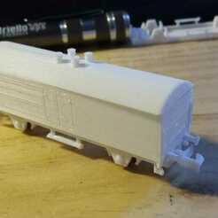 vagon_montado.jpeg Télécharger fichier STL Wagon congélateur à échelle N • Design imprimable en 3D, bartologordito