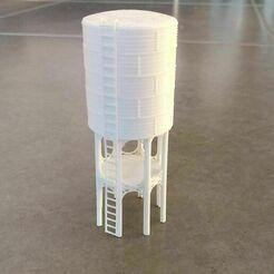 IMG-20171114-WA0012.jpeg Télécharger fichier STL Ancien réservoir d'eau pour le chemin de fer miniature • Plan à imprimer en 3D, bartologordito