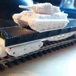 vagon3.jpeg Télécharger fichier STL Wagon à plate-forme Échelle N • Modèle imprimable en 3D, bartologordito
