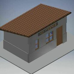caseta.JPG Télécharger fichier GCODE gratuit Routes et travaux pour le chemin de fer miniature • Design pour imprimante 3D, bartologordito