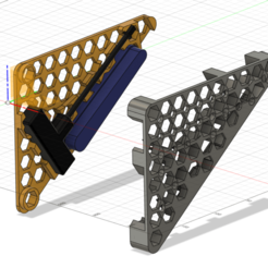 Tools-holder-bracket.png Download STL file GasGas EC 300 2018 - 2019 Tools holder bracket under the seat • Model to 3D print, kenny8