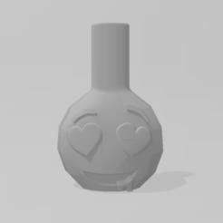 Emoticono Enamorado 1.PNG Télécharger fichier STL Emoji, porte-parole amoureux • Modèle pour impression 3D, Dalton98