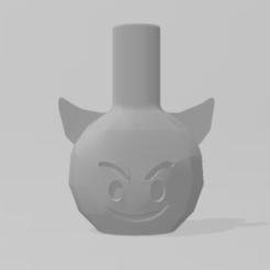 Emoticono demonio 1.PNG Télécharger fichier STL Embouchure du démon • Modèle imprimable en 3D, Dalton98