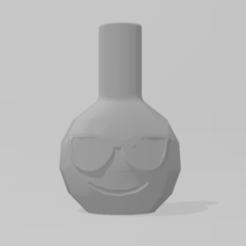 Emoticono Gafas de sol 1.PNG Download STL file Emoji Mouthpiece Sunglasses • 3D printer template, Dalton98