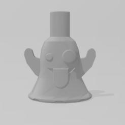 Emoticono Fantasma 1.PNG Télécharger fichier STL Embouchure du fantôme Emoji • Objet imprimable en 3D, Dalton98
