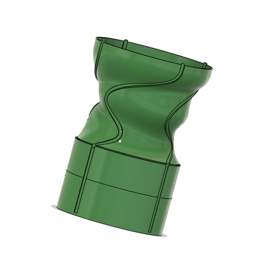 potdenis.PNG Télécharger fichier STL gratuit pot de fleur  • Plan imprimable en 3D, baldar