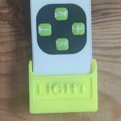 136484078_438551690607799_1348391864710054539_n.jpg Télécharger fichier STL gratuit support télécommande a LED • Objet à imprimer en 3D, baldar